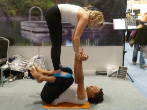 In Pictures: The OM YogaShow
